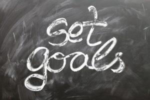 set goals, um einen guten trainingsplan zu erstellen