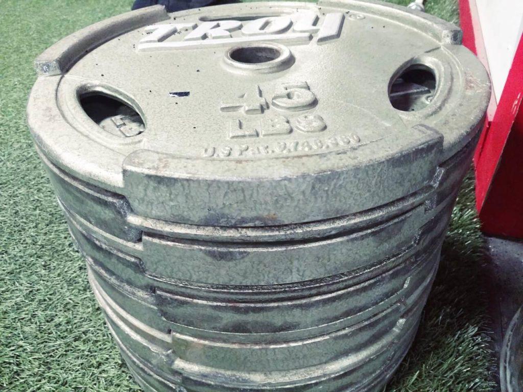 Trainingsfehler: zu schwere Gewichte