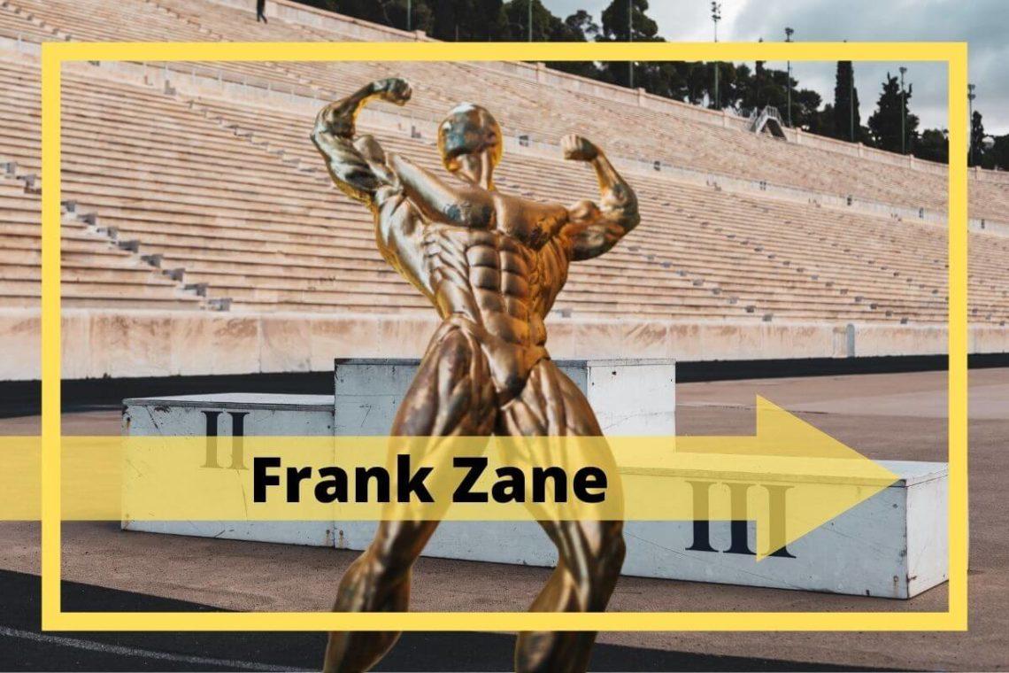 Der Bodybuilder Frank Zane - Größe und Gewicht, größte Erfolge
